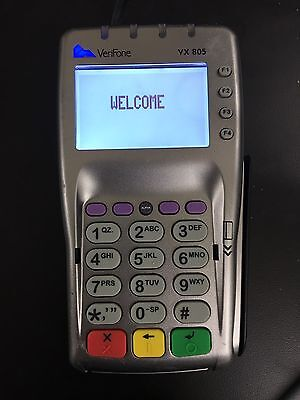 Verifone Vx 805 Used Pin pad For Credit Card Machine With Chip Reader