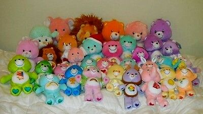 Care Bears & Cousins Big & Small Collectible Plush Dolls 33 Colorful Carebears!