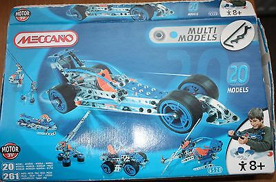Meccano Motion System Model Kit - 6520 - numerous extras
