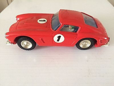 Vintage Tri-Ang Scalextric C69 Ferrari Berlinetta Unboxed Lovely Condition.