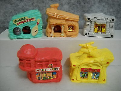 McDONALD'S 1993 FLINTSTONES COMPLETE SET OF 5