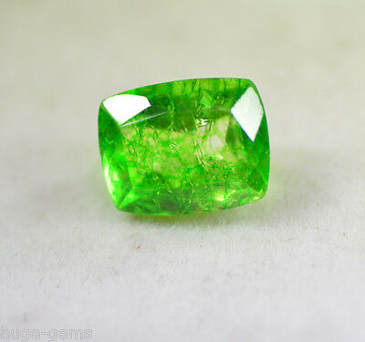 Natural 6.40 Ct Exclusive Cushion Shape EGL Certified Green Emerald Gemstone