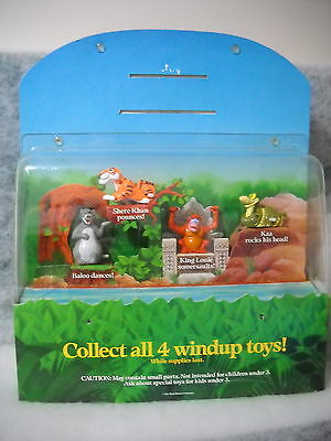 McDONALD'S 1990 DISNEY JUNGLE BOOK STORE DISPLAY UNIT