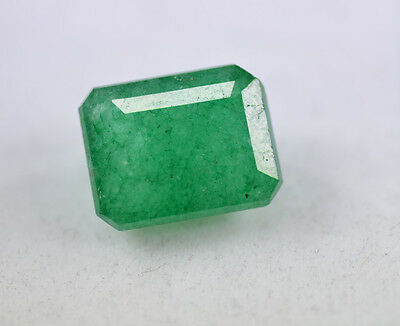 Natural 6.00 Ct Gorgeous EGL Certified Emerald Shape Green Emerald Gemstone