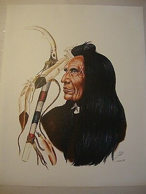 """Three Feathers . by Native American Artist . Yatzie Dee """"Silver Eagle""""  #ab860"""
