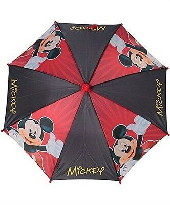 Disney Mickey Mouse Red/Black Umbrella
