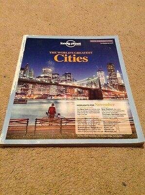 Lonely Planet Magazine.November 2011.World's Greatest Cities Cover.Moscow/Hawaii