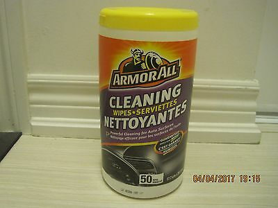 Armor All Cleaning Wipe - 50 Sheets