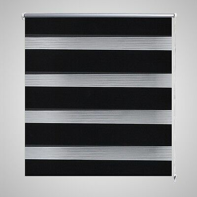 Roller Blind Blackout 60x120cm Black Daynight Window Blinds Sunscreen Quality