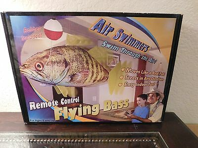Brand new in the box Air Swimmers Remote Control Flying Bass