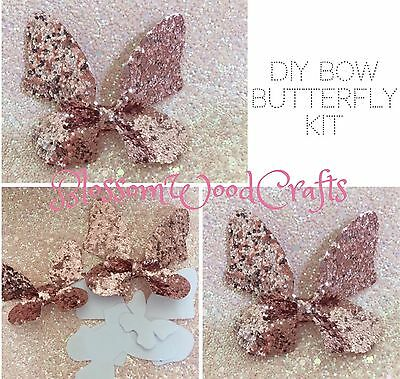 Butterfly Pinch Bow Template Kit Makes X4 Sizes DIY Bows