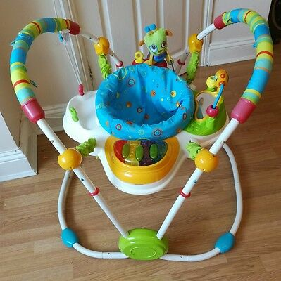 Bright starts jumperoo cute critters bouncer baby toy activity centre jumping