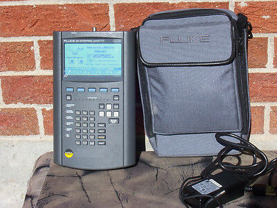 Fluke 685 Enterprise Lanmeter with Power Adapter and Soft Carrying Case