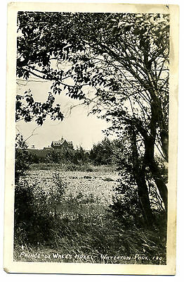 Canada Waterton Park Prince of Wales Hotel Real Photo RPPC Unposted