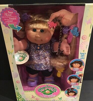2009 Cabbage Patch Kids Pop 'N Style Kid Doll Liliana Berenice New In Box