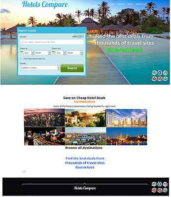 FULLY AUTOMATED HOTEL, FLIGHT WEBSITE -inc installing Online Profitable Business
