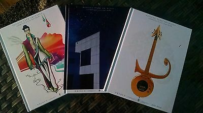 PRINCE PAISLEY PARK Tour Books All 3- 2017 HARDCOVER BOOKs. New. Sealed.