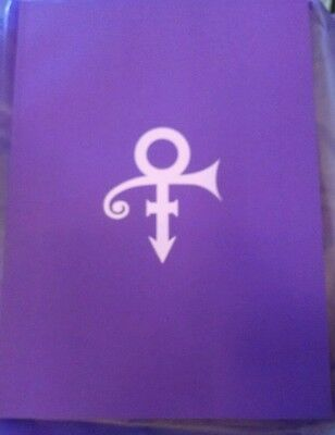 "PRINCE PAISLEY PARK MUSEUM TOUR BOOK  -  BRAND NEW  Free 1"" pin included."