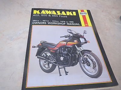 Kawasaki 400, 500 and 550 Fours  owners workshop manual - Haynes