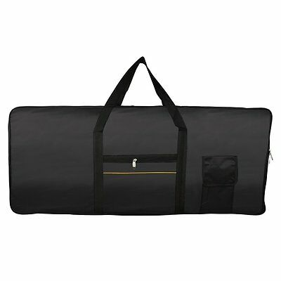 Portable 61-Key Keyboard Electric Piano Padded Case Gig Bag Oxford Cloth WS XV