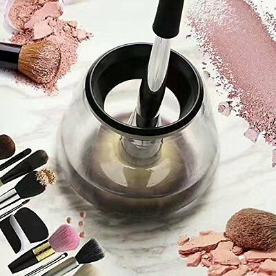 Electric Makeup Brush Cleaner Cleans And Dries NEW HOT PRODUCT UK SELLER Battery