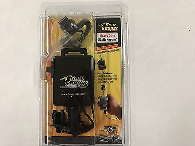 "Gear Keeper Heavy Duty Black RT3-4112 42"" Retractable CB Radio Microphone Hanger"