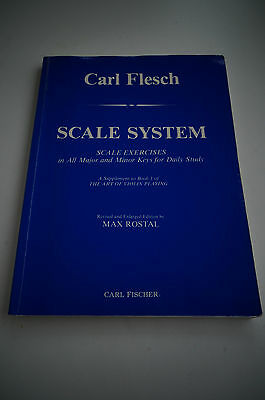 Scale System for Violin by Carl Flesch - Published by Carl Fischer