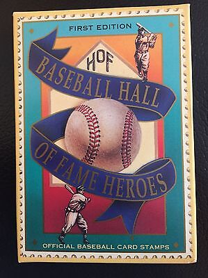 UNOPENED Baseball Trading Card Stamps HALL OF FAME HEROES  ST VINCENT 1st Ed.