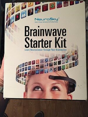 NeuroSky MindWave Mobile BrainWave Starter Kit Compatible w/ iOS Android PC