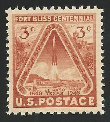 1948 First US Space Stamp Fort Bliss El Paso Texas Rocket Commemorative MINT NH!