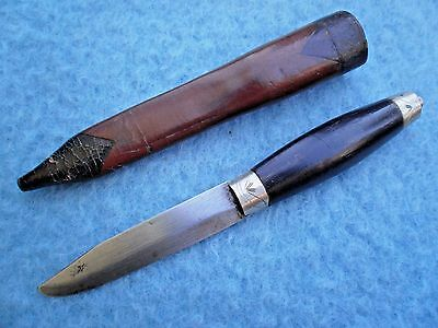 antique Scandinavian Puukko Knife Swedish Norwegian Finnish Danish dagger sword