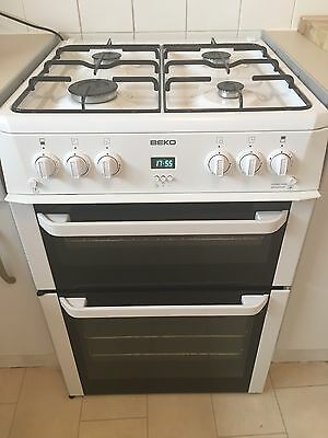 Freestanding Gas Cooker With Double Oven