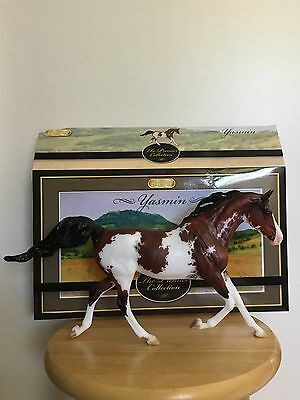 Breyer Sr Yasmin Premier Collector Club Arabian X Bay Sabino Paint Horse
