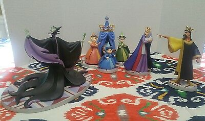 DISNEY WDCC Figurine SLEEPING BEAUTY UNIVITED GUEST LE #480 /1000 MALEFICENT