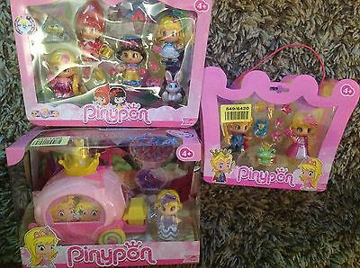 Pinypon Fairy Tales Princess Figure and Carriage and 2 x Fairy Tale figure pack