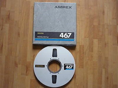 ampex digital mastering audio tape 467 (used)
