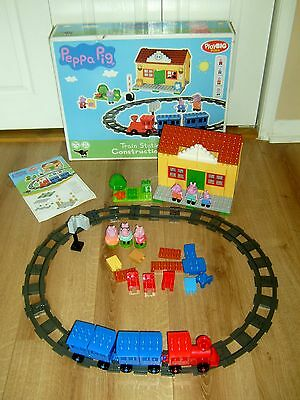 Peppa Pig Train Station Construction Set With Box