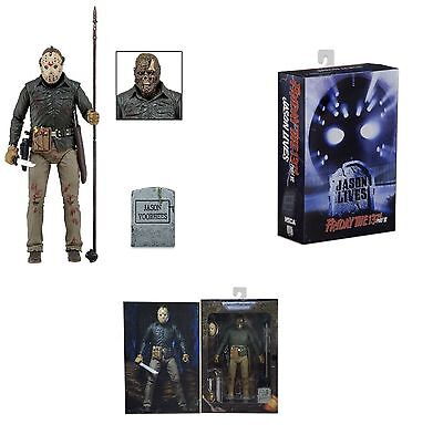 """Neca Friday The 13Th Part 6 Ultimate Jason Voorhees  7"""" Action Figure 2015"""