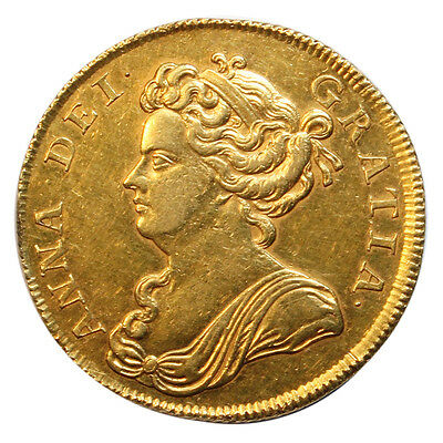 1711 Two Guinea, Anne Draped Bust