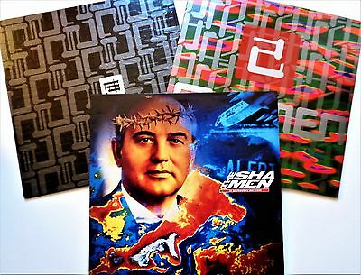 THE SHAMEN VINYL LOT En-Tact / Gorbachev / Make It Mine OLD SCHOOL DANCE Lp 12""