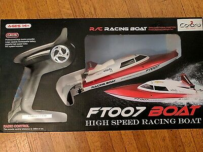 RC High Speed Racing Boat FT007 Cobra RC Toys. Brand New. Fast Shipping.