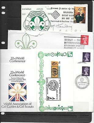 Gb Collection Of Stamps On Envelopes C524