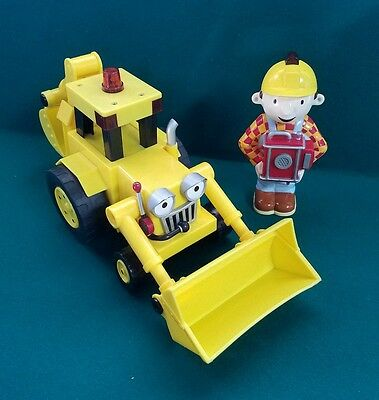 "Bob the Builder  Remote Control ""Follow Me"" Scoop Learning Curve tractor backhoe"