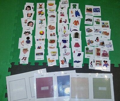 Autism ASD action picture choice/ display cards