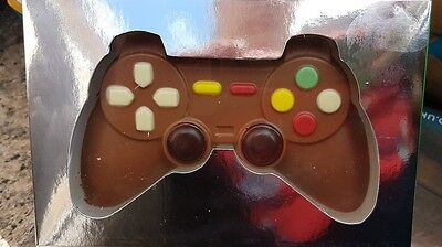 Milk Chocolate Game Controller, gift, chocoholic, novelty, decorated, 70g