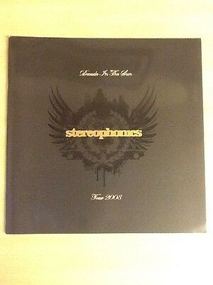 """Stereophonics-Tour Programme 2008-Decade In The Sun-12""""x12"""" 28 Pages-Rare-Mint/m"""