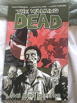 The Walking Dead Volume 5 The Best Defense (TP trade Paperback Comic)