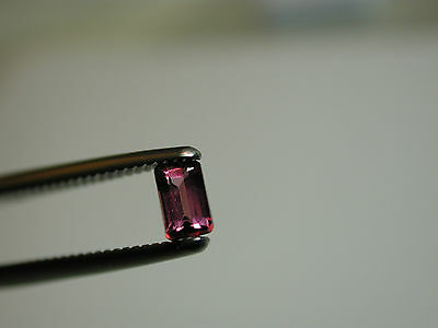 .37 ct Rhodolite Garnet loose gemstone 5 x 3 x 2.5 mm NICE!  z44p62