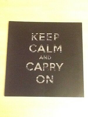 """Stereophonics-Tour Programme 2010-Keep Calm And Carry On-12""""x12"""" 28 Pages-Ex+M"""