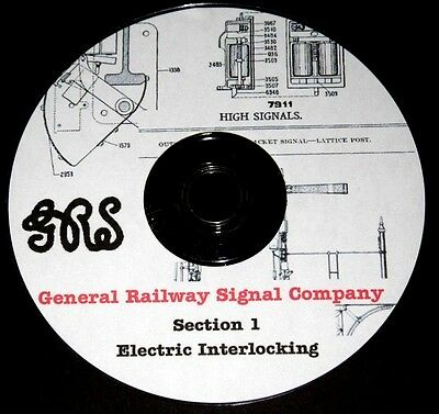 General Railway Signal Electric & Mechanical Catalogs 1905 PDF Files on 2 DVD's